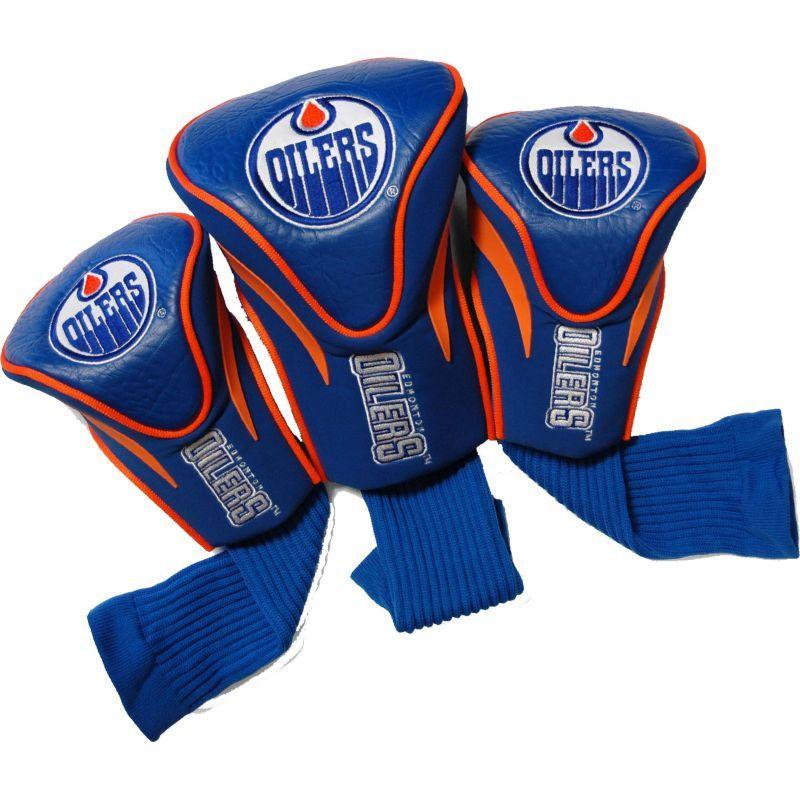 Team Golf Edmonton Oilers 3Pack Contour Headcovers