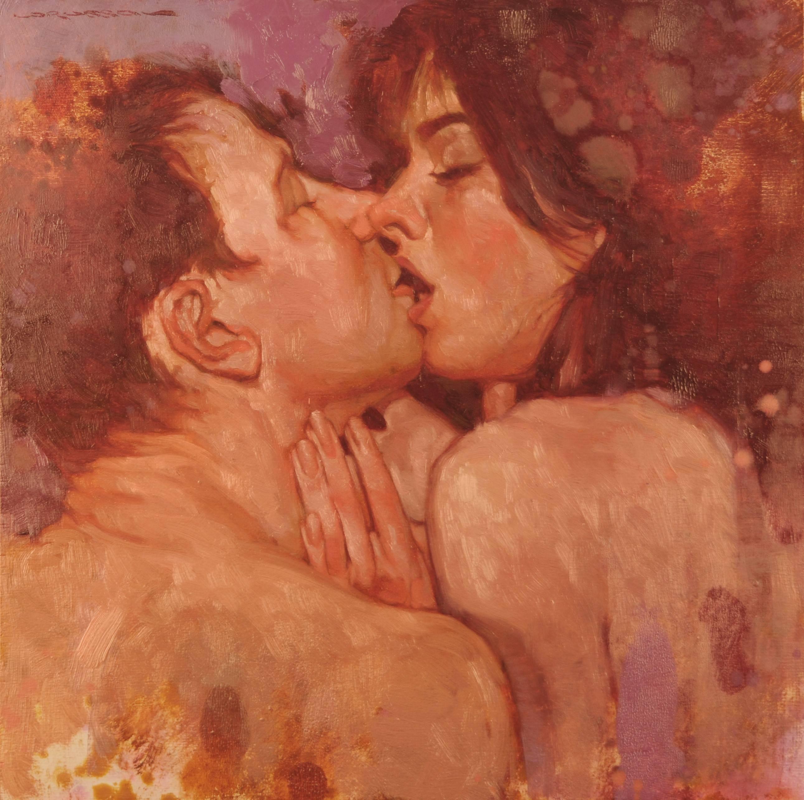 Passionate Kiss Artwork Google Search Joseph Lorusso Kiss Artwork Sketches Of Love