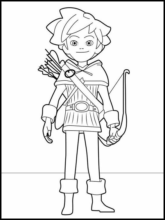 desenhos para colorir para crianças para imprimir robin hood 1