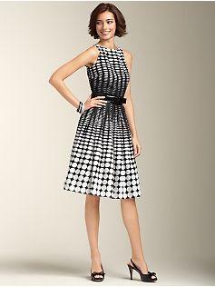 Oval-Dot Dress from Talbots