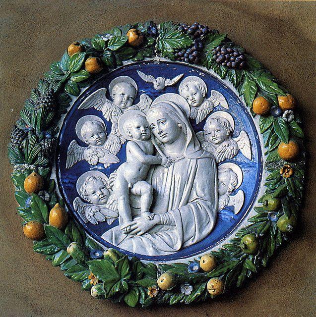 Andrea della Robbia - Madonna col Bambino, 1490-1500 -  Città di Castello, Pinacoteca Comunale