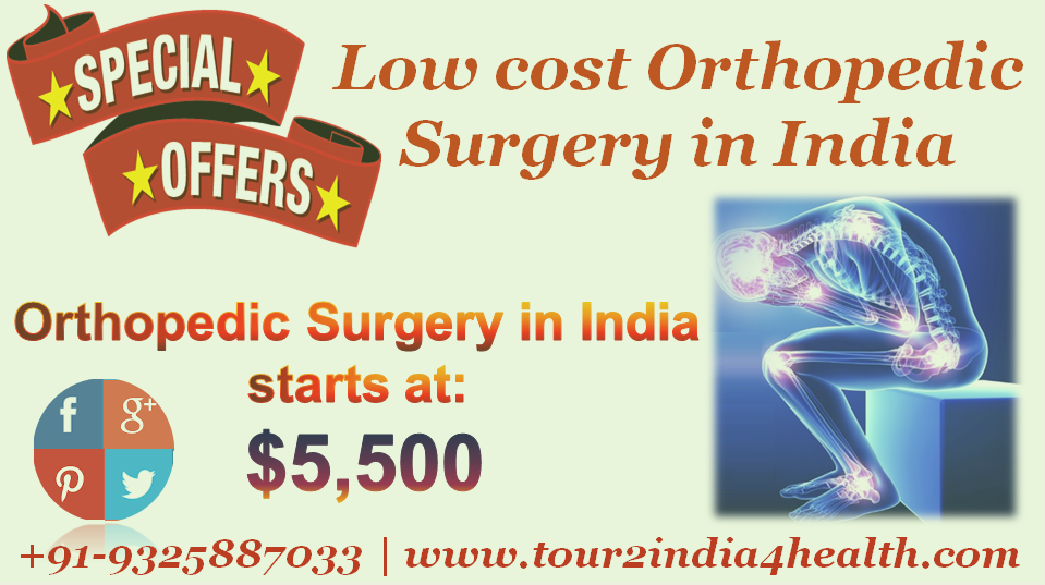 Low cost orthopedic surgery in India