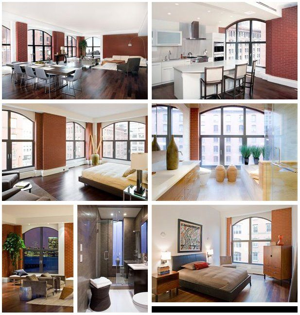 New York City Lofts For Rent: Apartment, New York Condo Interior Design: Small Space