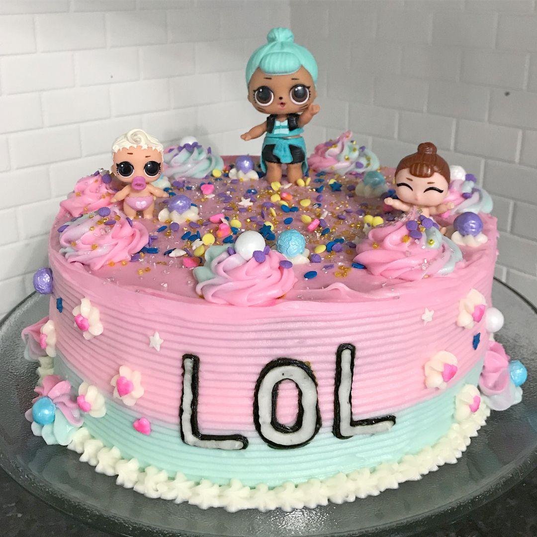Lol surprise cake lols lol lolsurprise
