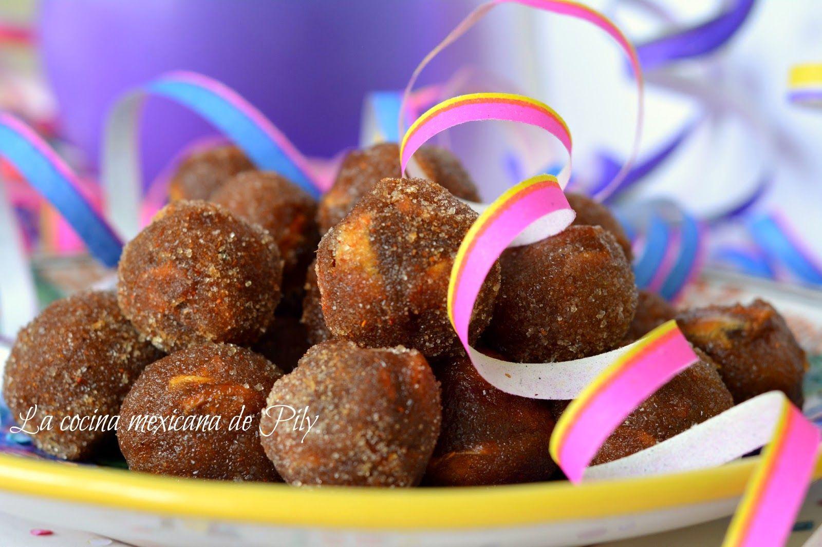 La cocina mexicana de Pily: Bolitas de dulce de tamarindo y ¡Feliz día del Niño!