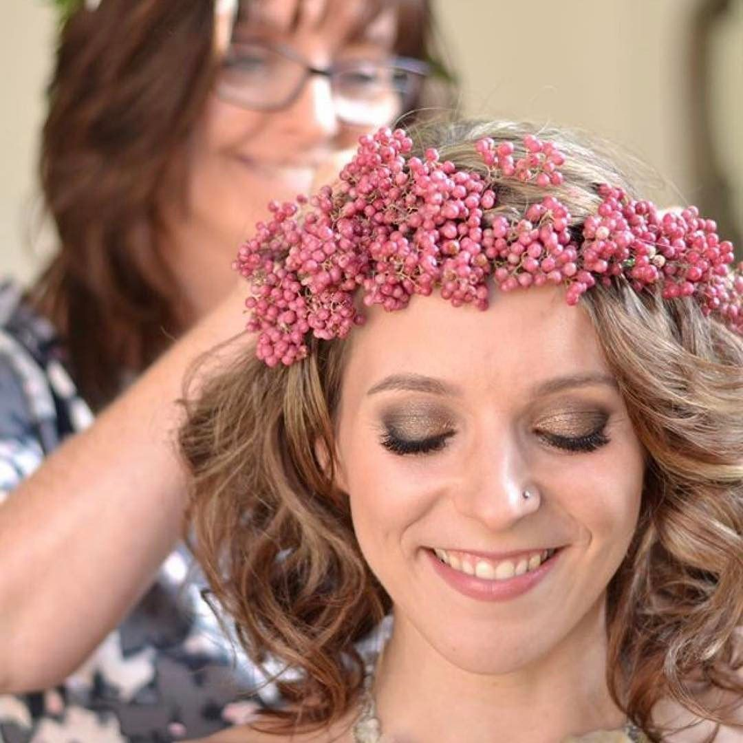 How much fun did we have on this hair flower photoshoot even how much fun did we have on this hair flower photoshoot even sharons got a jasmine flower crown on whilst pinning charlottes pepper berry crown in izmirmasajfo