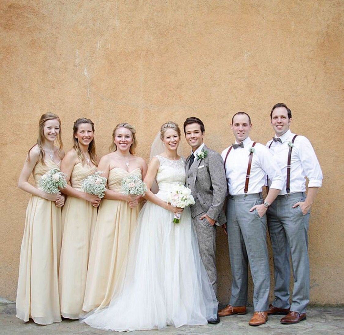 Nathan Kress Wedding.Nathan Kress Wedding With Bride And Groom Siblings Nathan
