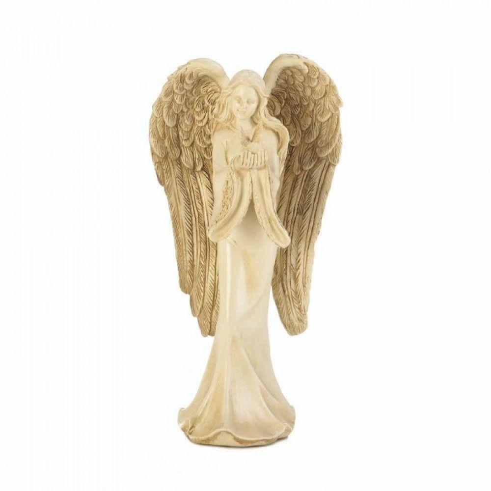 Angel Carrying Dove Figurine
