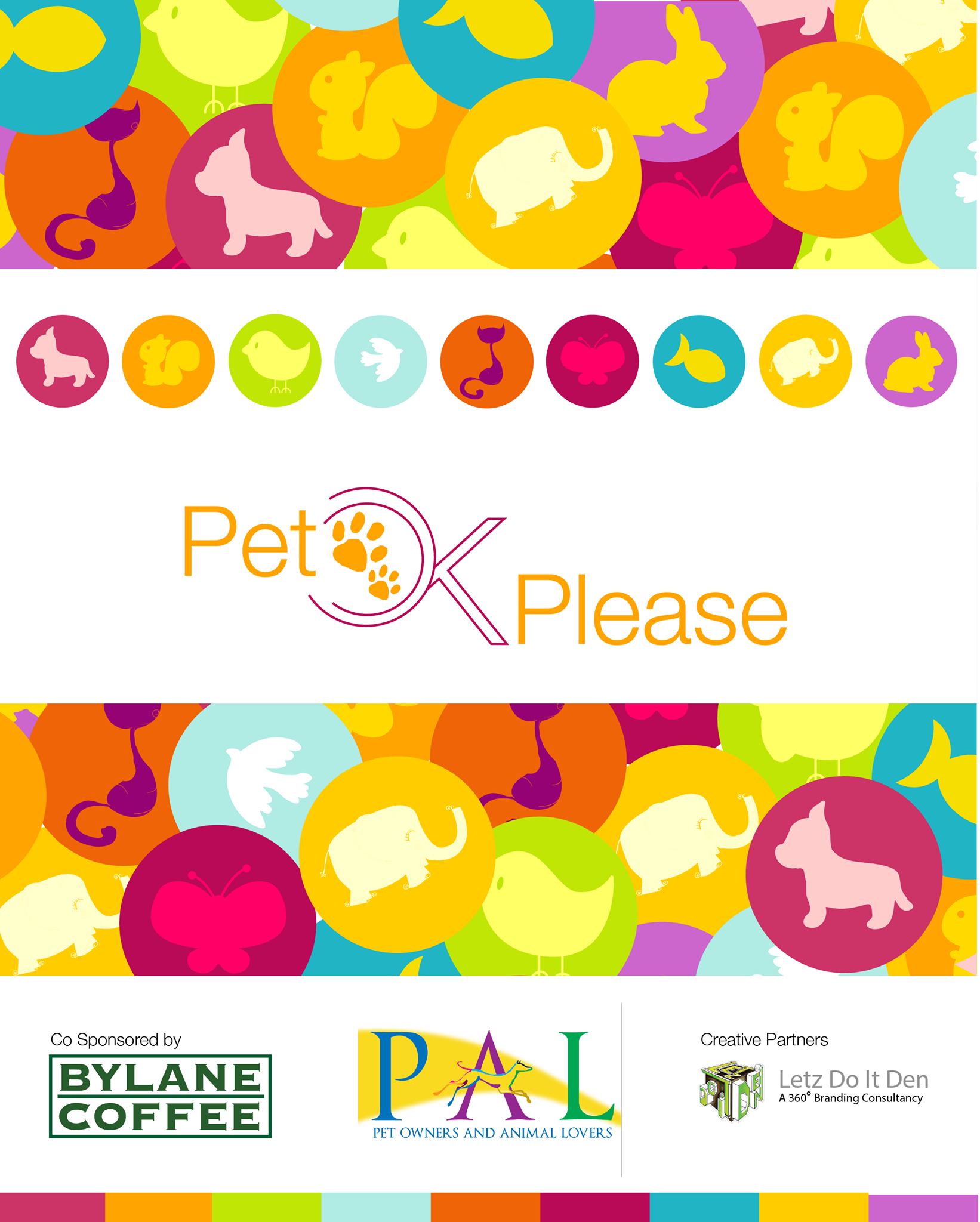 Pet Ok Please a Mumbai based event Poster 2.
