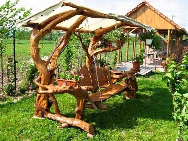 Swing when you re winning 9 supertolle schaukelb nke f r haus und garten diy bastelideen - Garten bastelideen ...