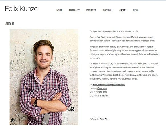 how to make a photography resume