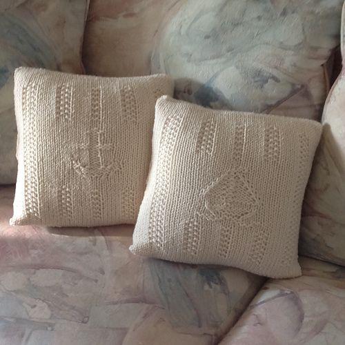 Ravelry: Symbols of the Sea Pillows pattern by Lori Emmitt ...