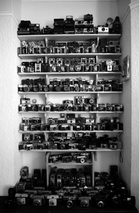 cameras ... lots and lots of 'em