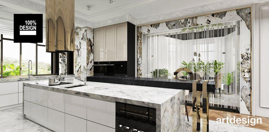 Foorni Pl Projekt Artdesign Pl Zlota Kuchnia Wnetrze Zloto Kuchnia Rezydencja Gold Luxury Luxurykitchen Home Home Decor Decor