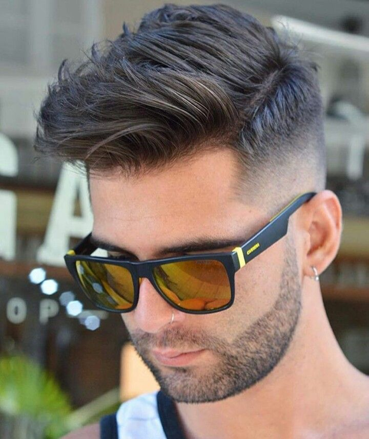 Awesome Mohawk Hairstyle For Man Hairstyles Pinterest Hair