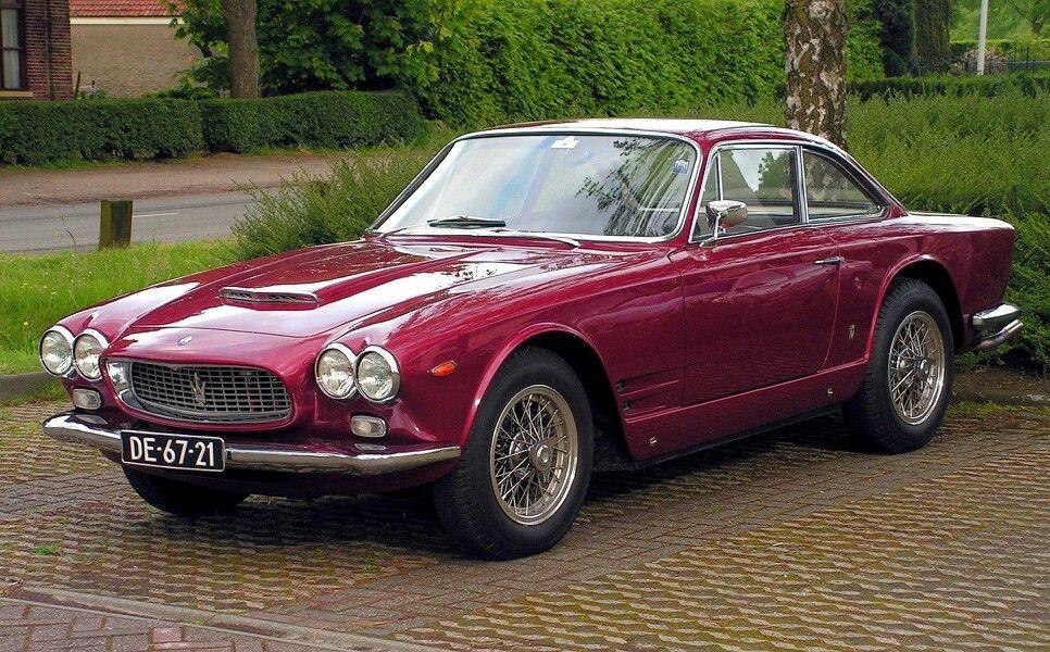 1959 Maserati 5000 GT | Klassisches auto, Oldtimer autos ...