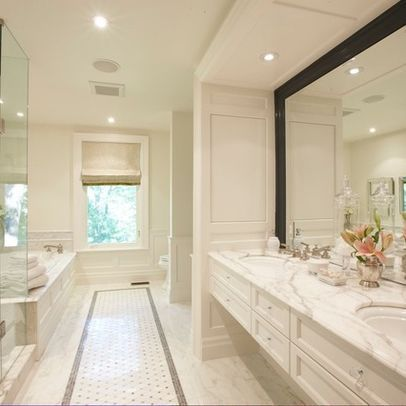 """""""long and narrow"""" bath design ideas, pictures, remodel and"""