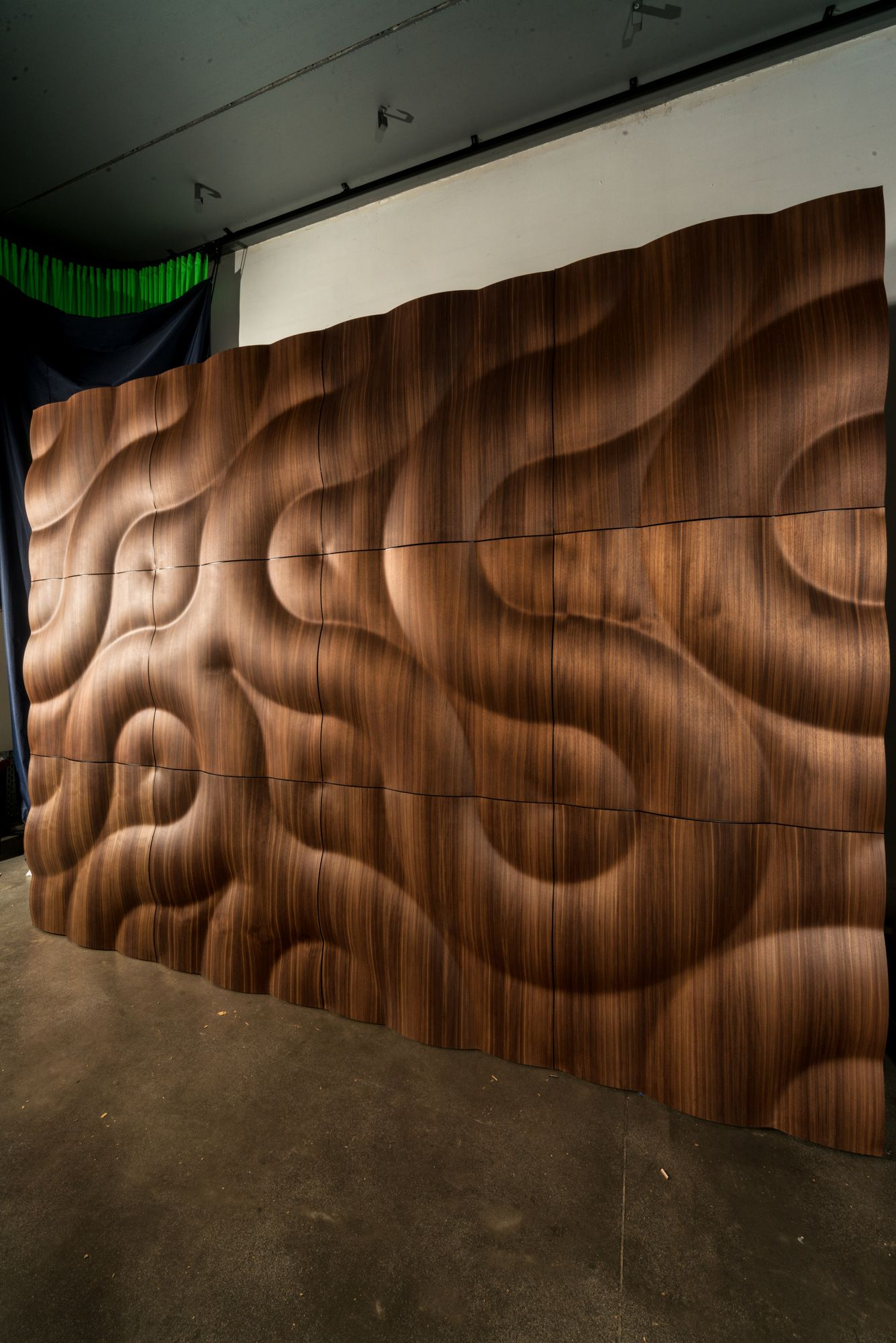 Modular Wooden 3D Wall Panel Buran By Moko
