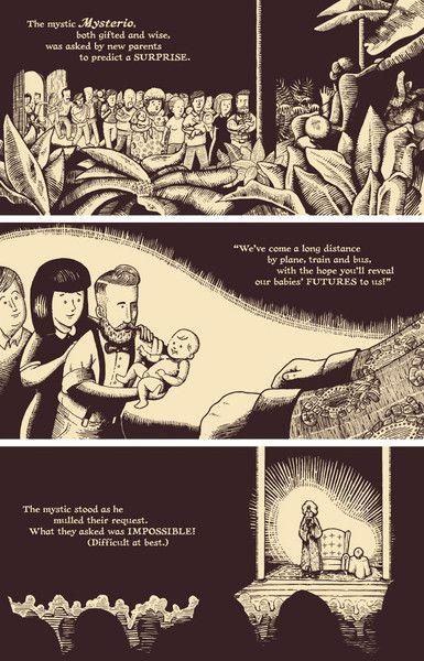 A Future Just for You! Mysterio Predicts Children's Book