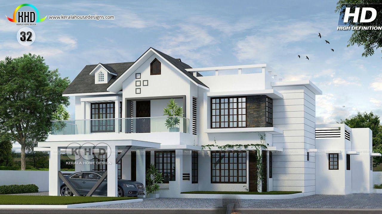 Top 90 Handpicked House Designs Of April 2019 Youtube Home Decor Home Decor Ideas Home Dec In 2020 Unique House Plans Kerala House Design Architectural House Plans