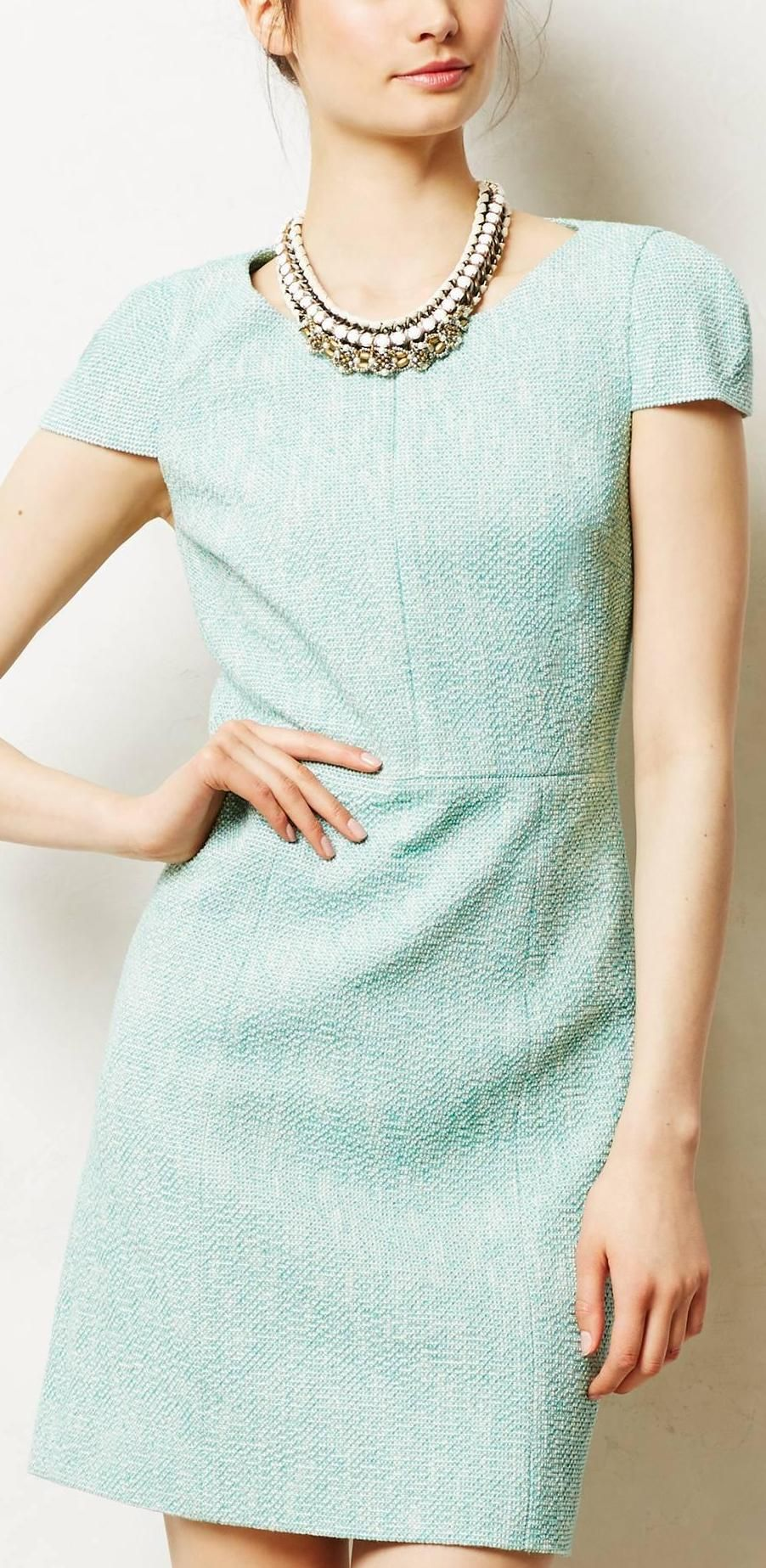 Anthropology Mint Dress ♡ L O V E This Color Amp Style