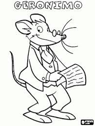 Geronimo Stilton Coloring Pages Printable Games Pin By Eduart On