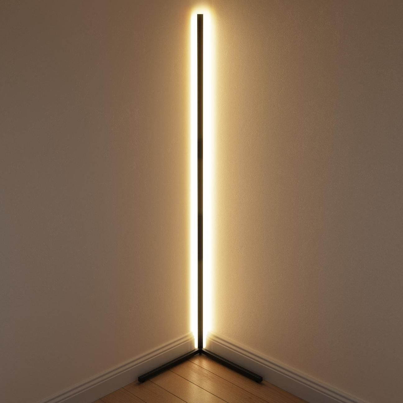 The Original Minimal Corner Lamp In 2020 Corner Floor Lamp Led Floor Lights Corner Lamp