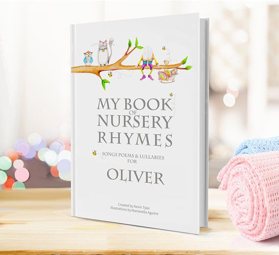 A modern keepsake book of nursery rhymes personalised poems a modern keepsake book of nursery rhymes personalised poems listed in the independents indybest negle Image collections