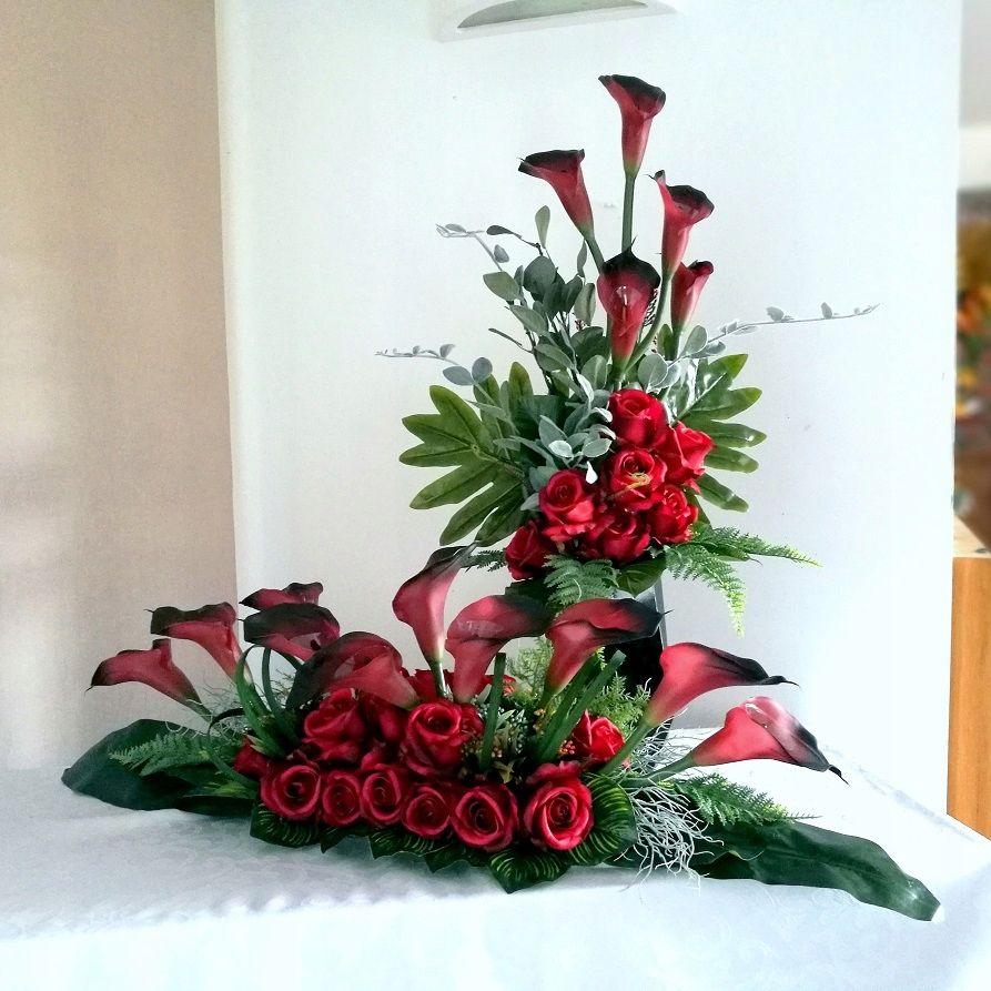 Bukiet I Stroik Na Cmentarz 8569737954 Oficjalne Archiwum Allegro Christmas Wreaths Ikebana Floral Wreath
