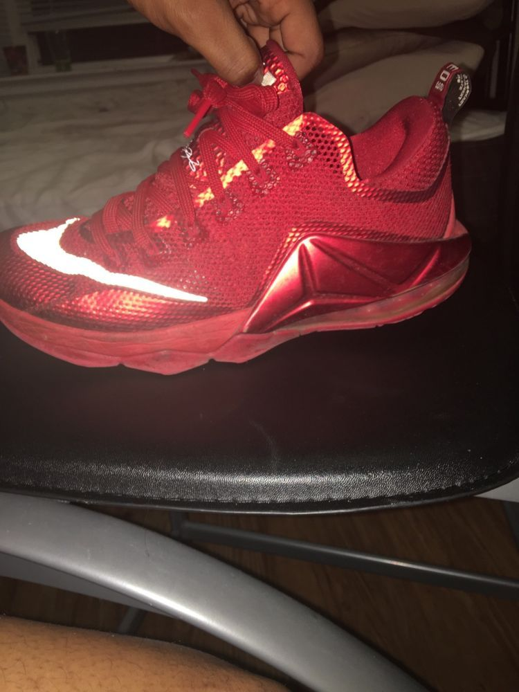 5f2ec4a09da0 Nike LeBron XII 12 Low All Over Red 724557-616 Mens Sz 10.5  fashion   clothing  shoes  accessories  mensshoes  athleticshoes (ebay link)