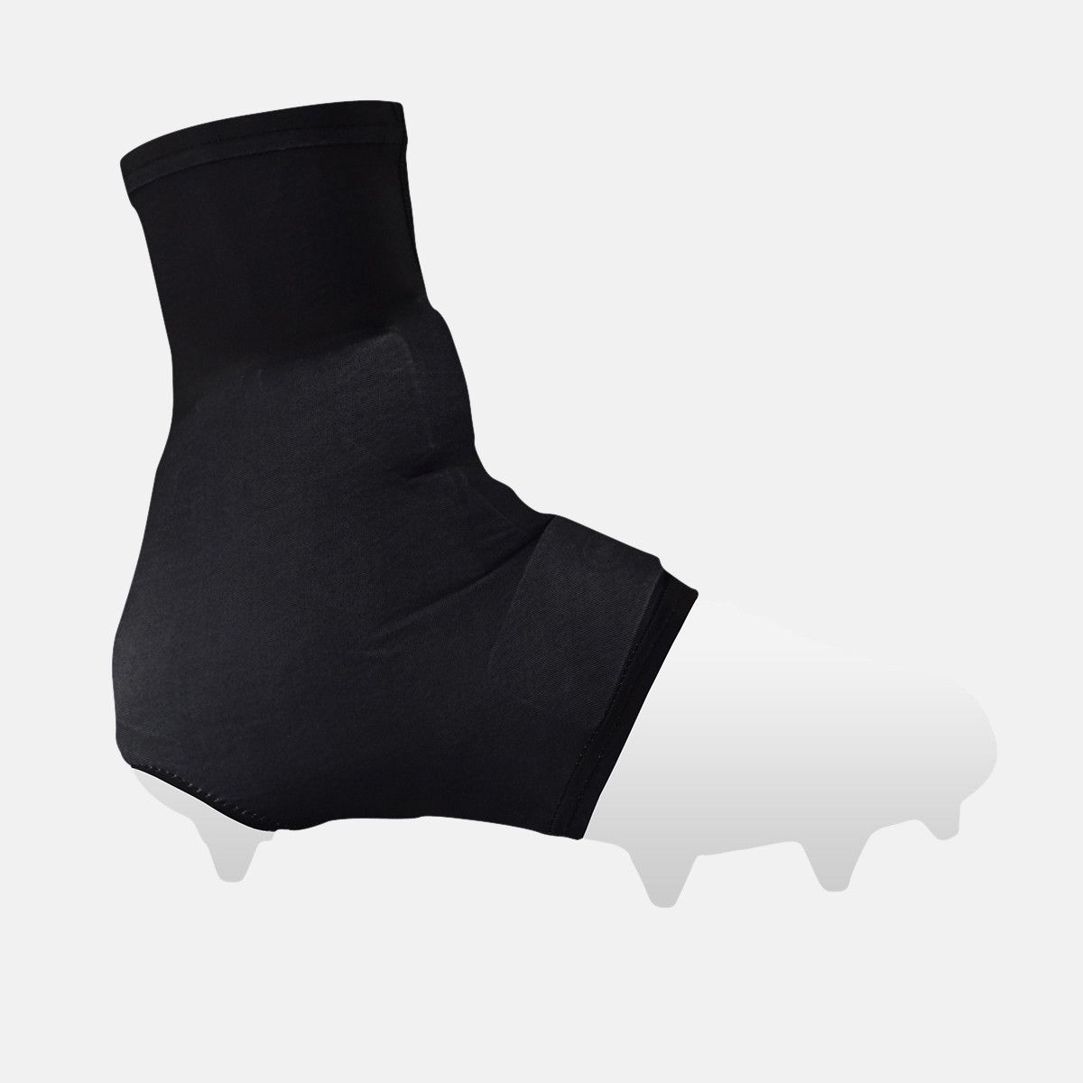 Basic black spats cleat covers cleats black spandex