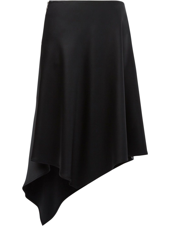 PACO RABANNE Satin skirt. #pacorabanne #cloth #