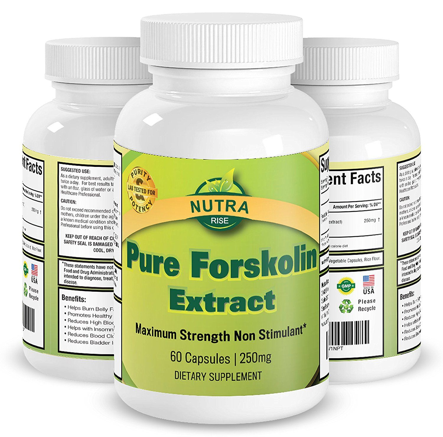 Purists elite forskolin