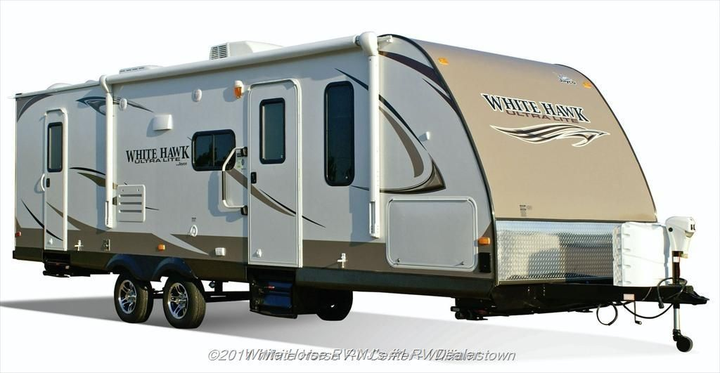 New Travel Trailer 2013 Jayco White Hawk 28dsbh 2 Bedroom Sofa