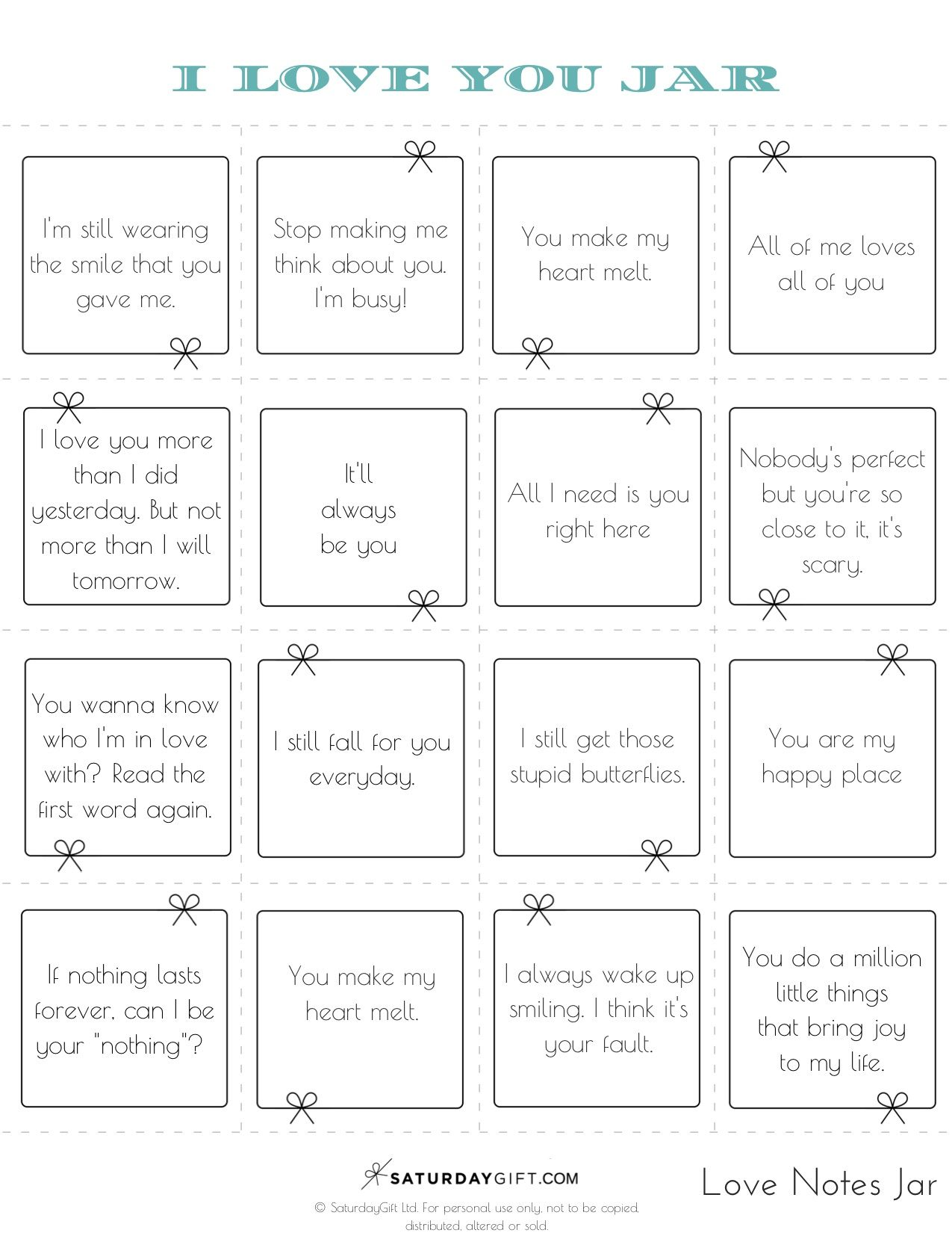 How To Create A Reasons Why I Love You Jar Free Printables Love Notes For Boyfriend I Love You Notes Reasons Why I Love You