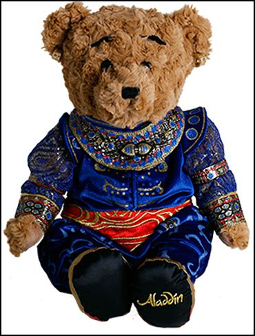 Aladdin the Broadway Musical - Plush Genie Bear $39.95
