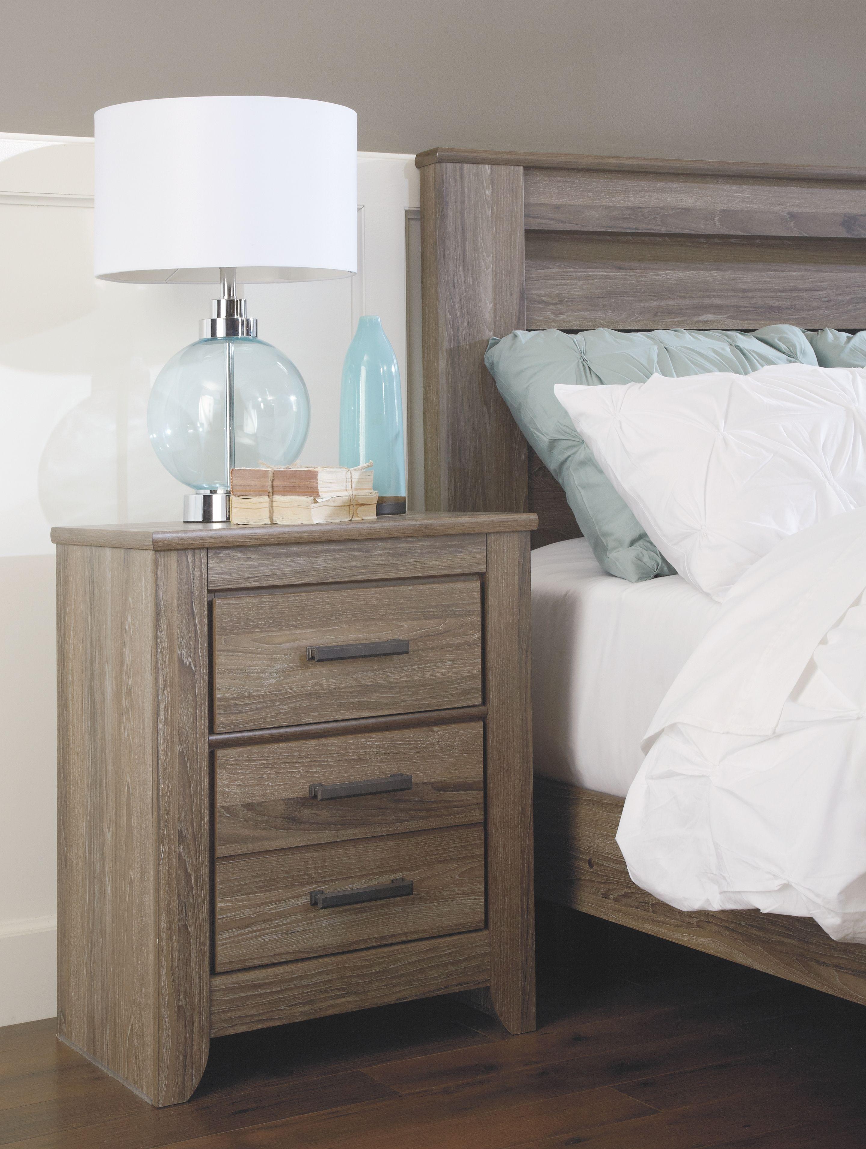 Zelen 6Piece King Bedroom, Warm Gray Furniture, Bedroom