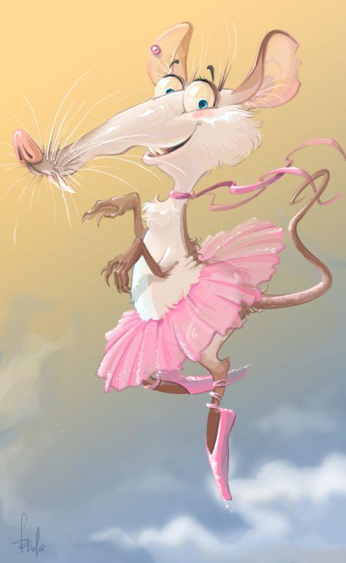 Открытки балет смешные, днем