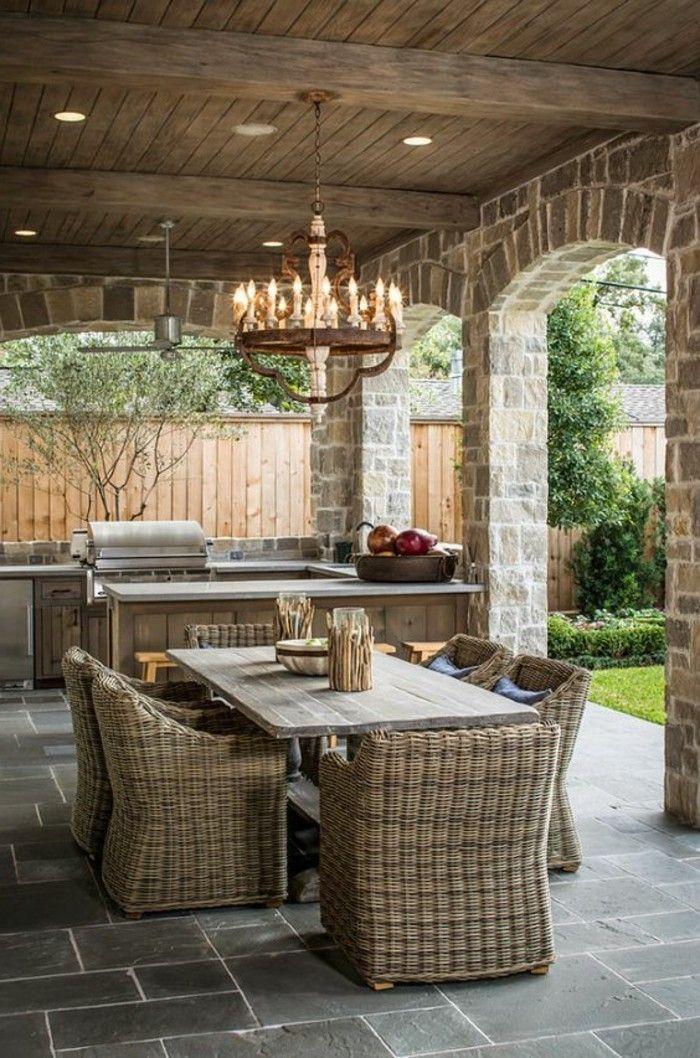 Le salon de jardin en résine tressée en 52 photos! | Tresser ...