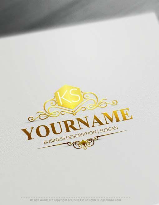 Free Logos Creator Make Online Elegant Logo Maker Free Logo Creator Elegant Logo Design Vintage Logo Maker