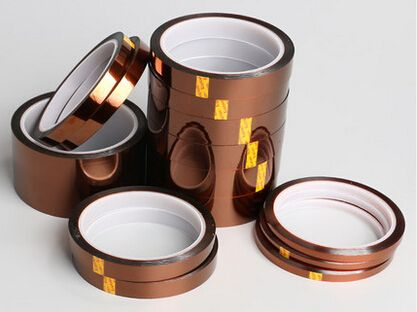 2.41US $  8mm x 33m High Temperature Resistant Tape Heat Dedicated Tape Polyimide Tape      - AliExpress