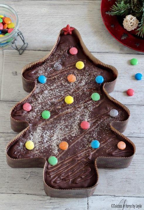 Dolce Di Natale Albero.Albero Di Natale Al Cioccolato E Marmellata Golosissimo Dolci Di