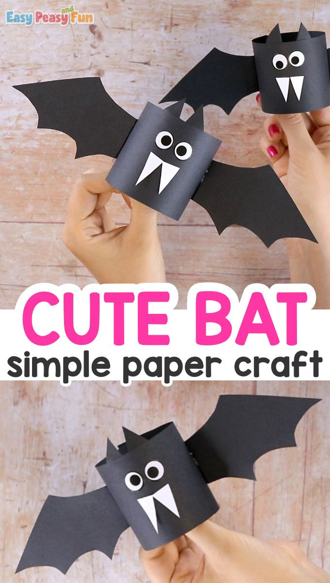 Nothing beats simple when it comes to crafting – we just know you are going to love this simple paper bat craft.This one makes a great Halloween craft for kids to make and it can be easily made in the classroom – frugal, quick and fun. Plus you can hang them and make cool classroom decor.