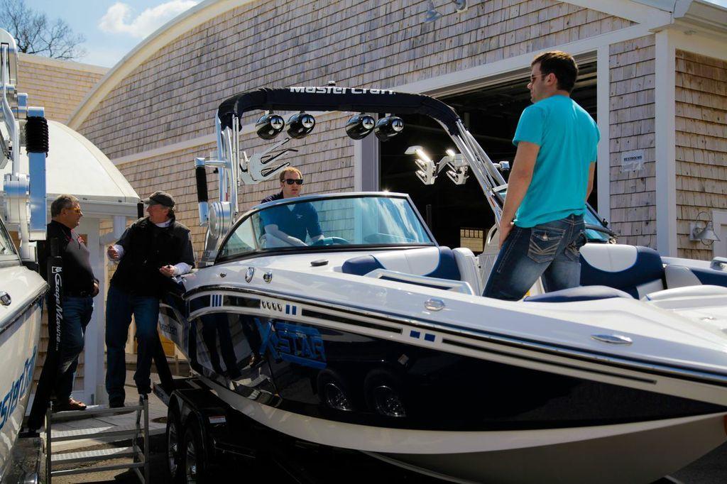 2013 Mastercraft At The Gage Marine Boat Show Bash With Images