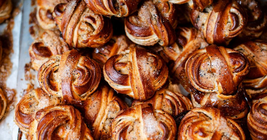 Come for the Cardamom Bun - The New York Times #cardamombuns
