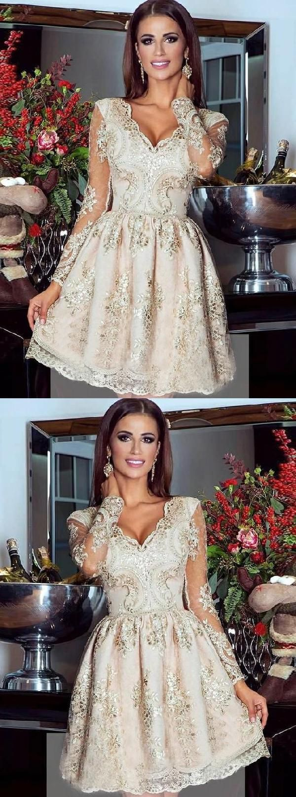 Cheap splendid prom dress with sleeves plus size homecoming dresses