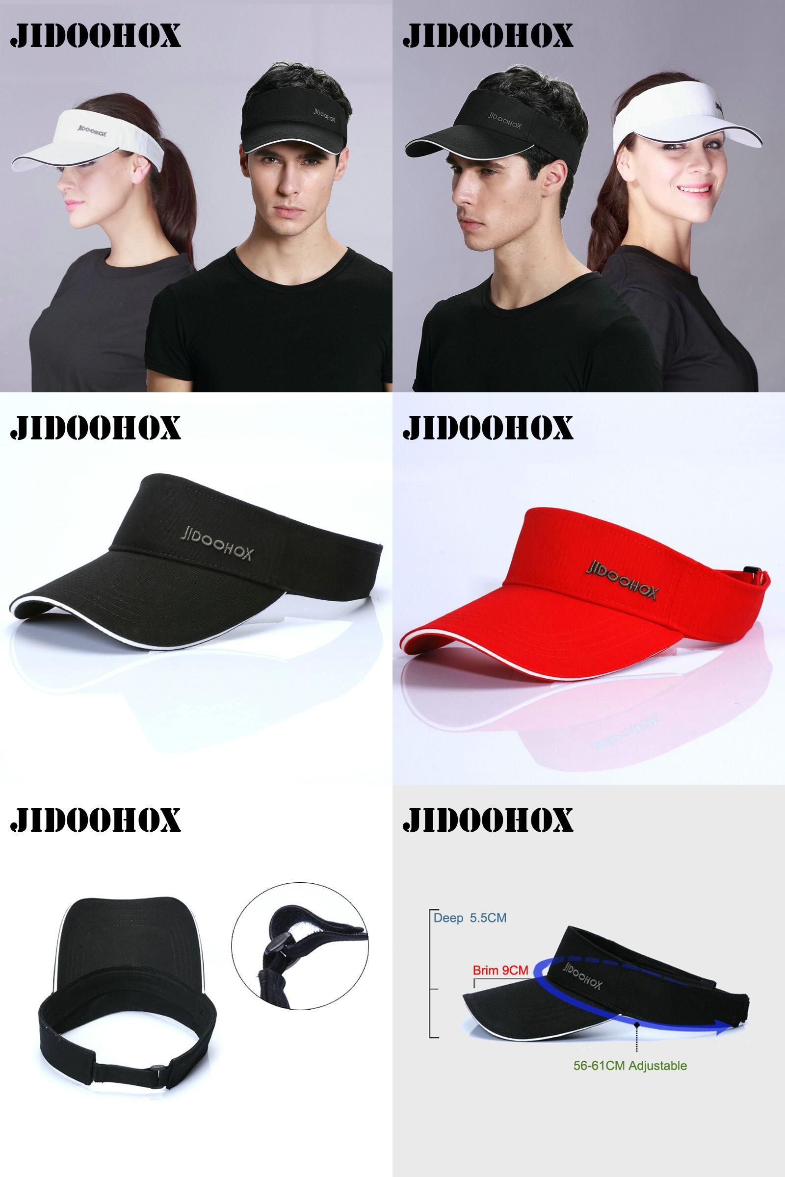 e738346e267  Visit to Buy   JIDOOHOX  Brands Sunscreen Baseball Hats For Men Women Empty