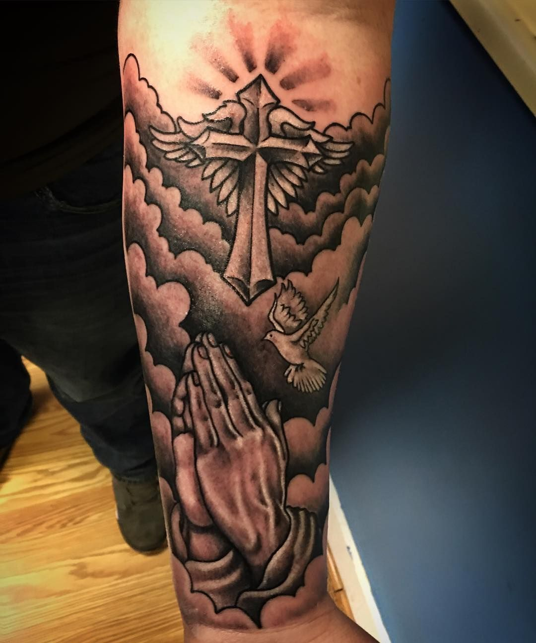 Masculine tattoos designs - Dove Tattoos