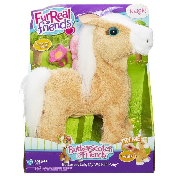 Furreal Friends Butterscotch My Walkin Pony Pet Fur Real Friends Baby Girl Toys Hugs And Cuddles