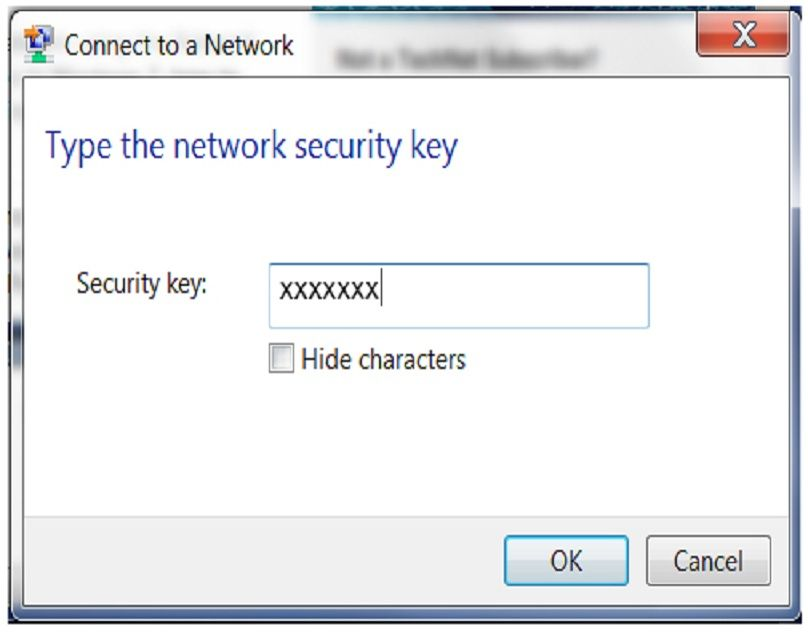 How To Fix The Network Security Key Mismatch Error Network Security Wireless Internet Connection Networking
